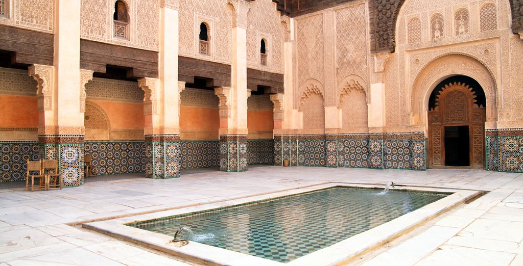 Holidays to Marrakech : Ben Yusuf Madrasa