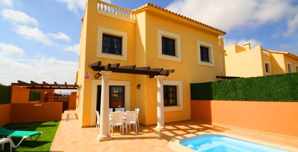 Where a spacious 3 bedroom villa awaits