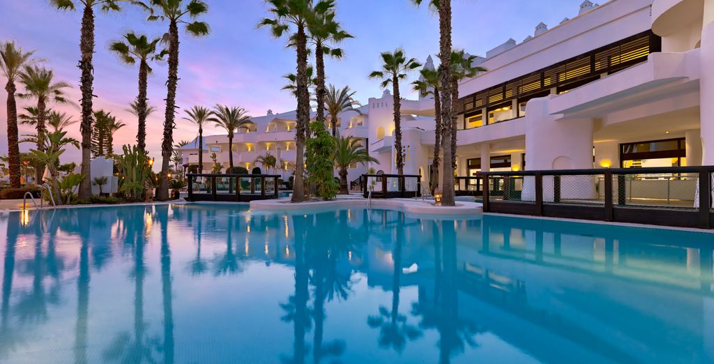 H10 Estepona Palace 4* - palace and luxury hotel in Spain