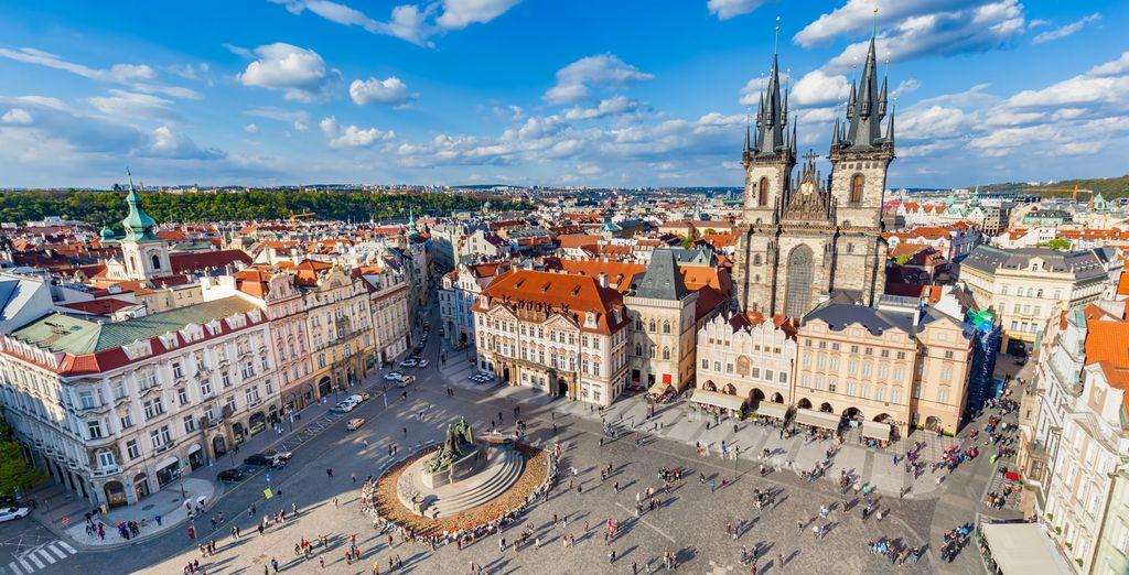 Discover stunning Prague