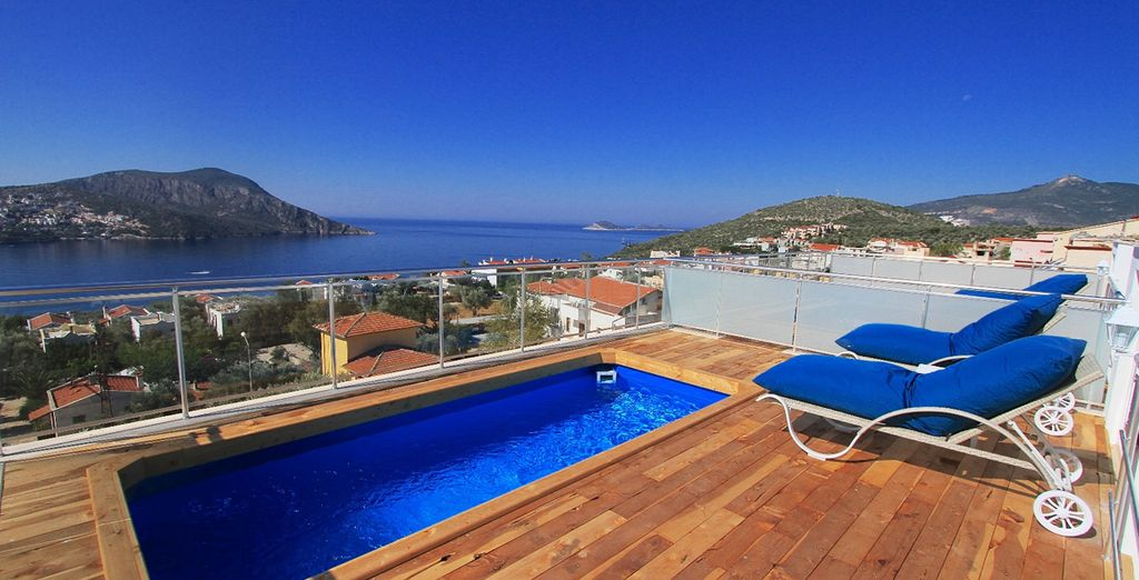 Take in the view from your very own pool