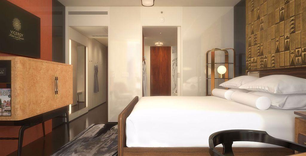 Alongside comfortable bedrooms