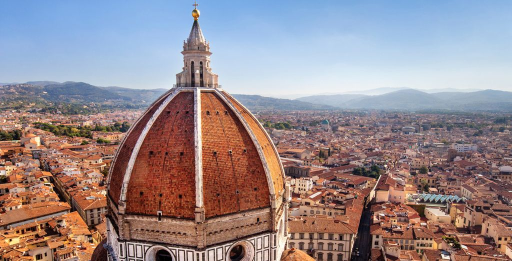 You are well-placed to explore the major art cities of Florence