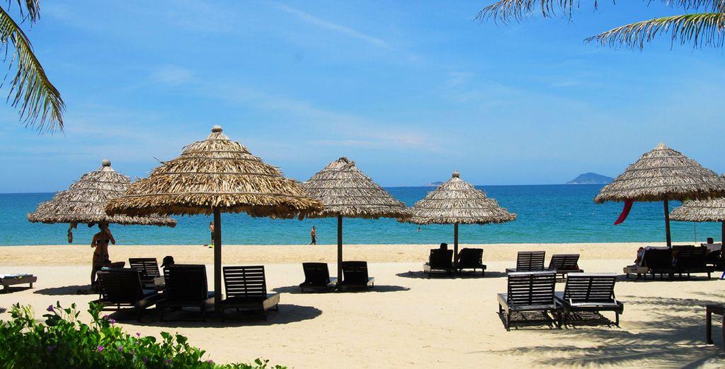 Sun-soaked beaches (Hoi An)