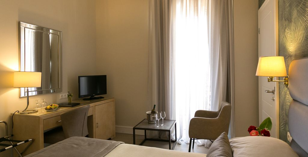 Each one is perfect for relaxing (pictured; Superior Room)