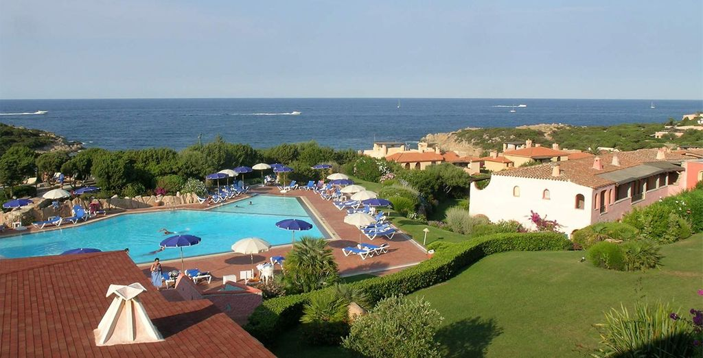 On the beautiful Costa Smerelda - Grand Hotel Porto Cervo 4* Sardinia