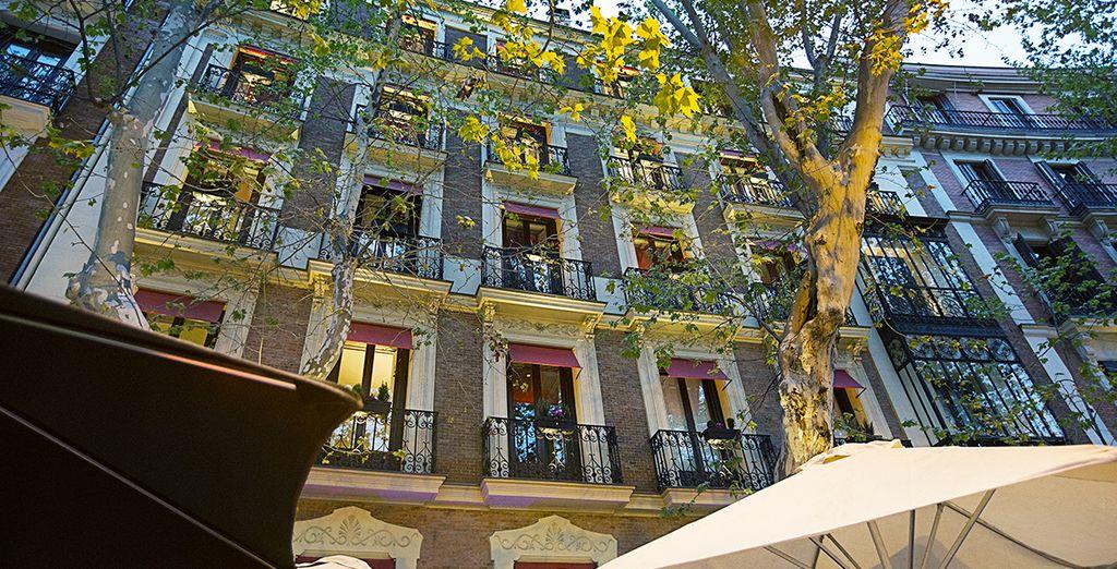 Welcome to Hotel Hospes Puerta de Alcalá