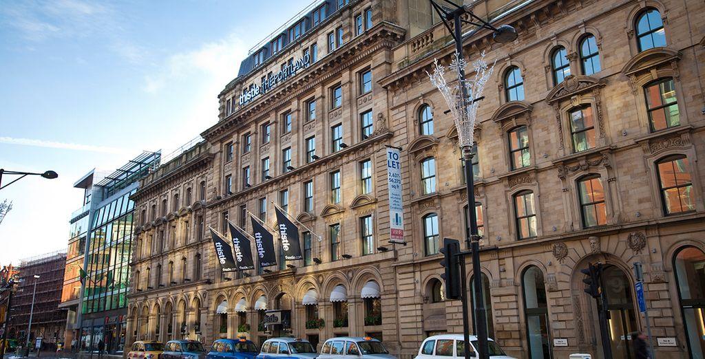 An elegant Victorian exterior...