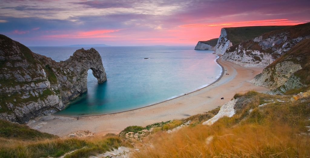 Such as the iconic Durdle door