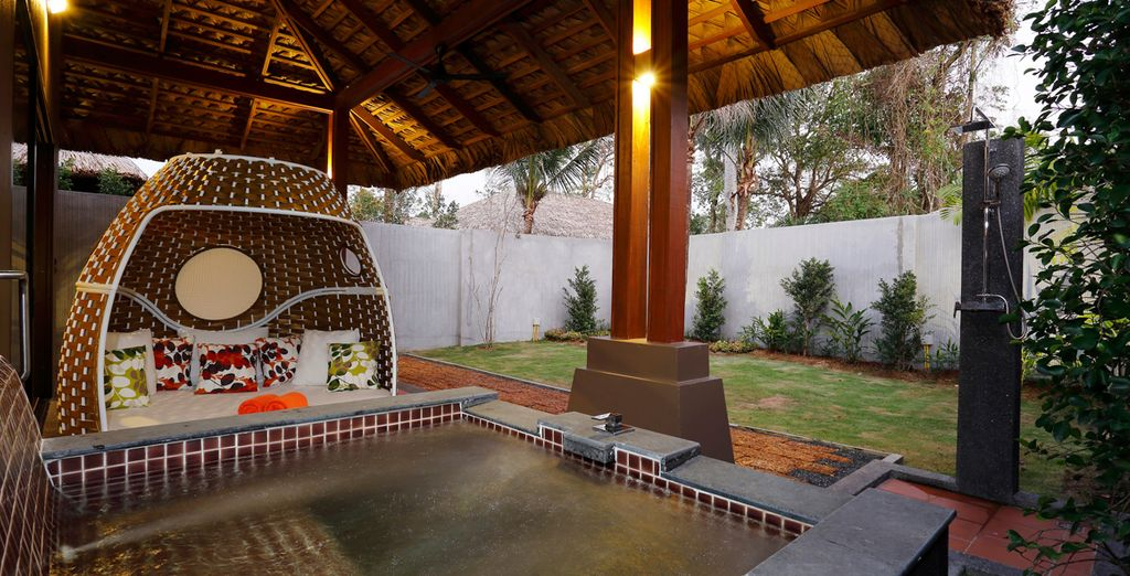 And a Jacuzzi – the height of luxury