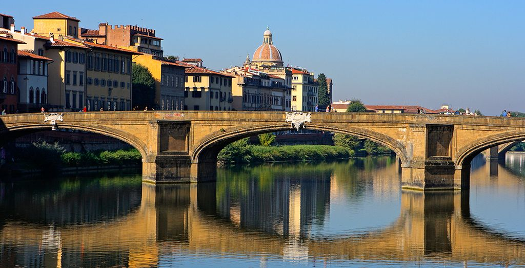 Just 25 km from the city of Florence