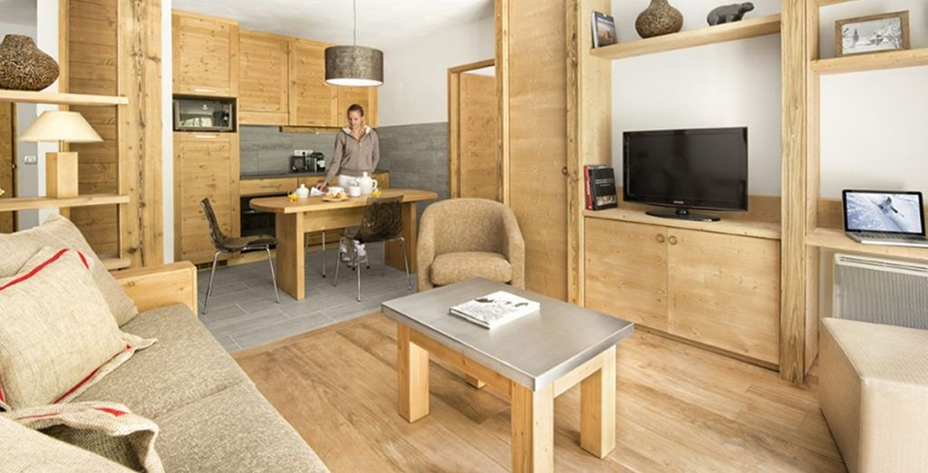 Fully equipped for a self catering stay