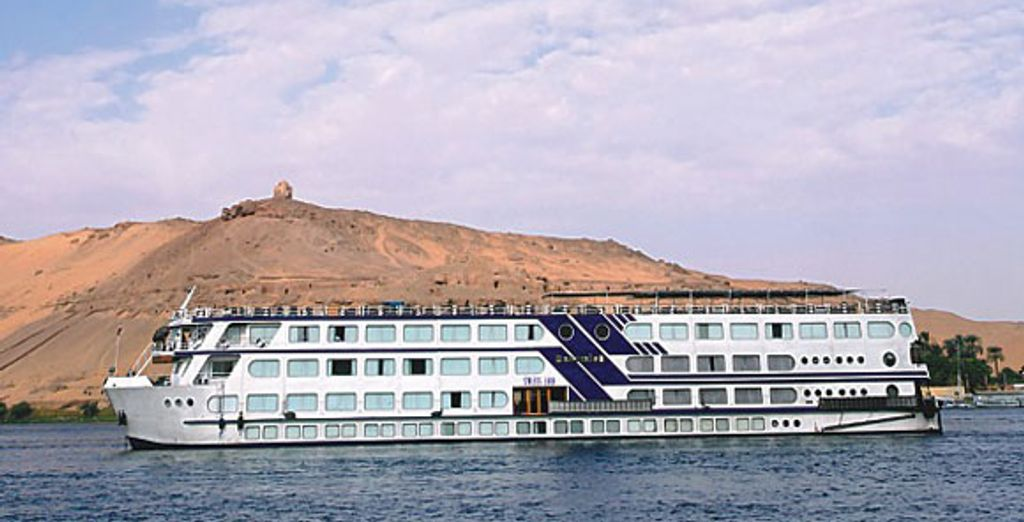 - Radamiss II Nile Cruise***** + Sultan Bey option - Egypt Various