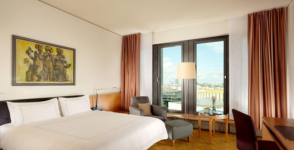 Your Classic Room is comfortable and high-tech