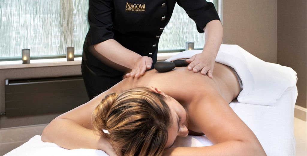 Indulge with a relaxing treatment