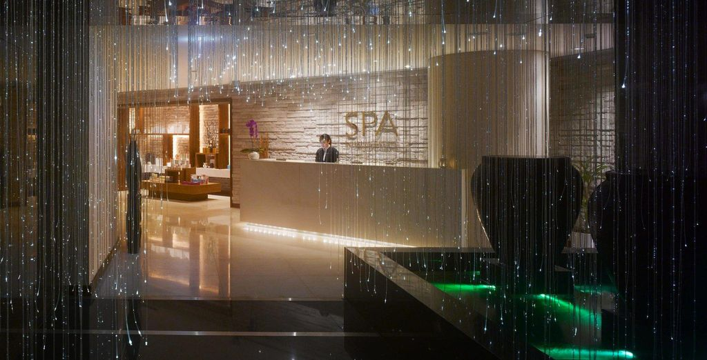 And a beautiful spa