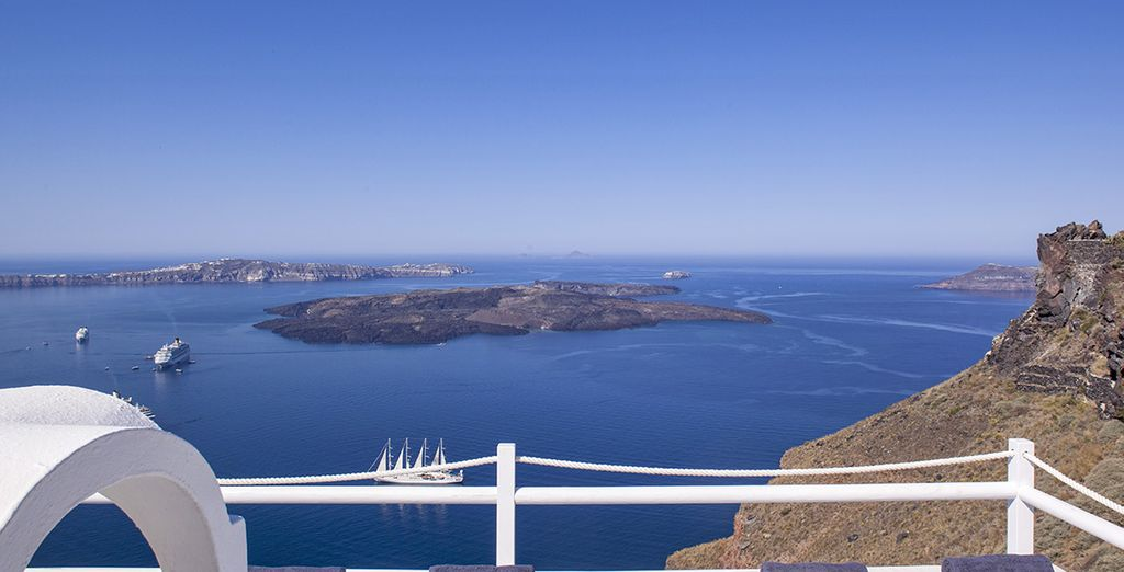 While staying at the On the Rocks Hotel, renowned for its breathtaking views