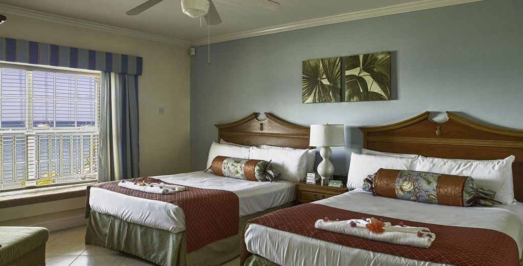 Enjoy your homely Deluxe Room