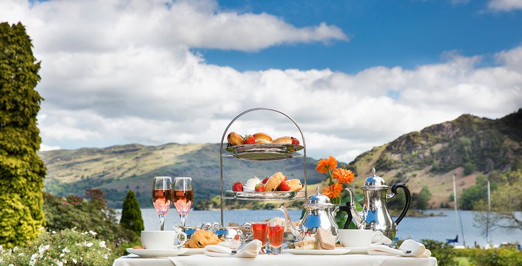 Afternoon tea! - Inn on the Lake Lake District