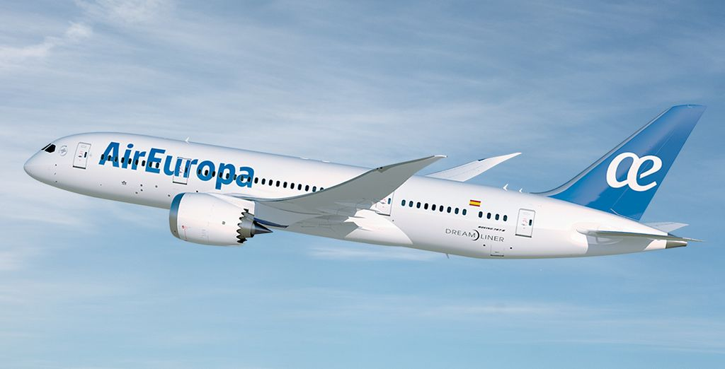 Why not choose to enhance your holiday with Air Europa