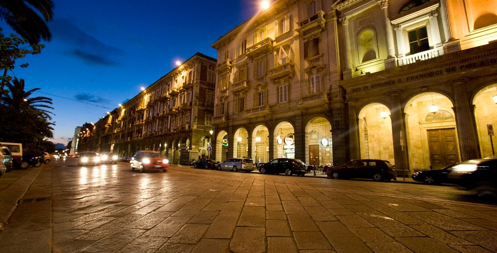 A 4* boutique hotel located in Cagliari