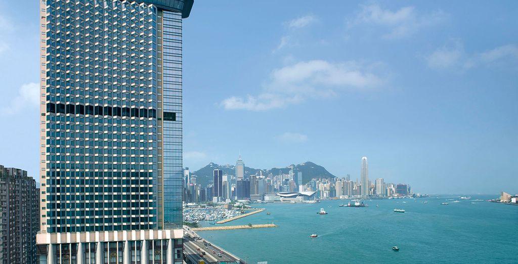 Start your trip in buzzing Hong Kong...