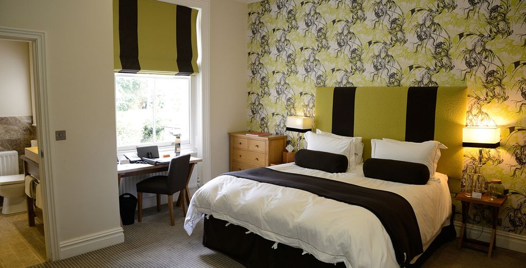 Enjoy your stay in a large double room  - The Green House Hotel 4* Bournemouth