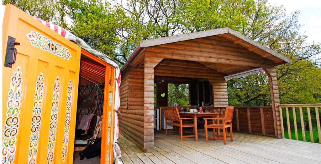 Shakti Yurt