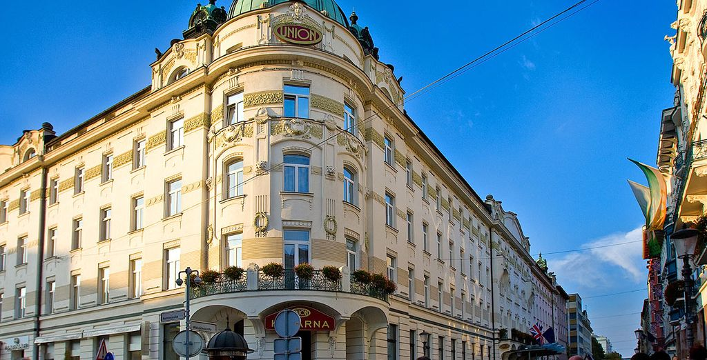 Stay at the 4* Grand Hotel Union for 3 nights