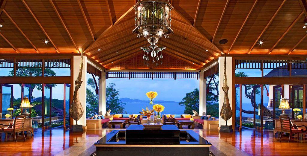 A beautiful beachfront property