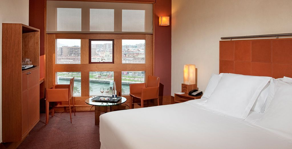Our members will stay in a Melia Room