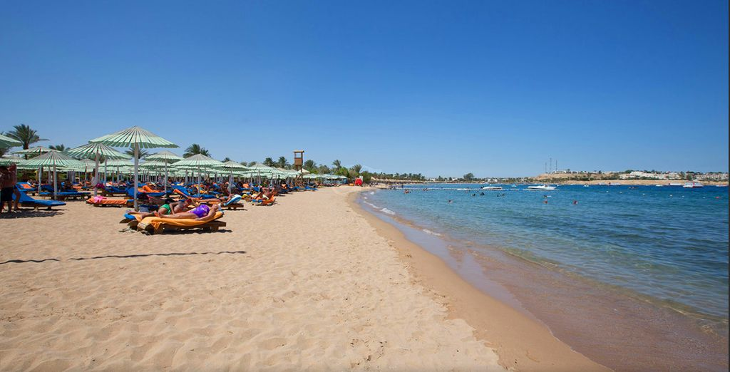 Or head down to the sea for snorkelling, sunbathing and waterpsorts
