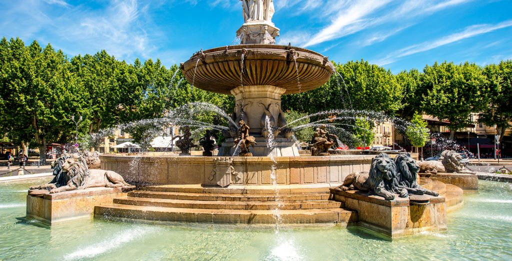holidays south of france : aix-en-provence