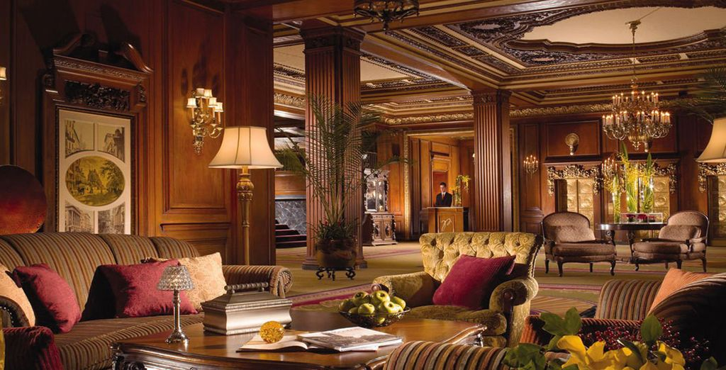 Stay at the magnificently grand Omni Parker House