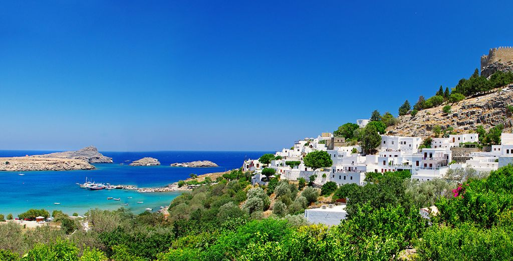 Visit the Greek island of Rhodes...