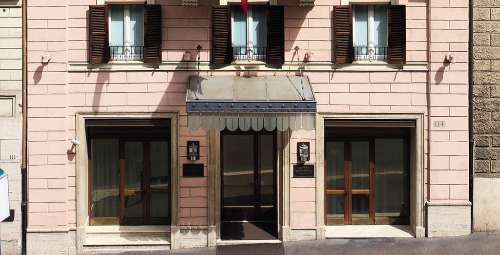 Your traditionally styled hotel - Hotel Stendhal 4* Rome