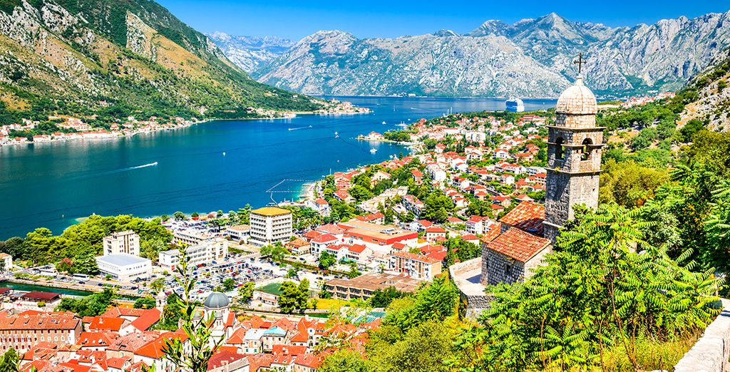 Discover the bay of kotor in Montenegro during your holidays with Voyage Privé