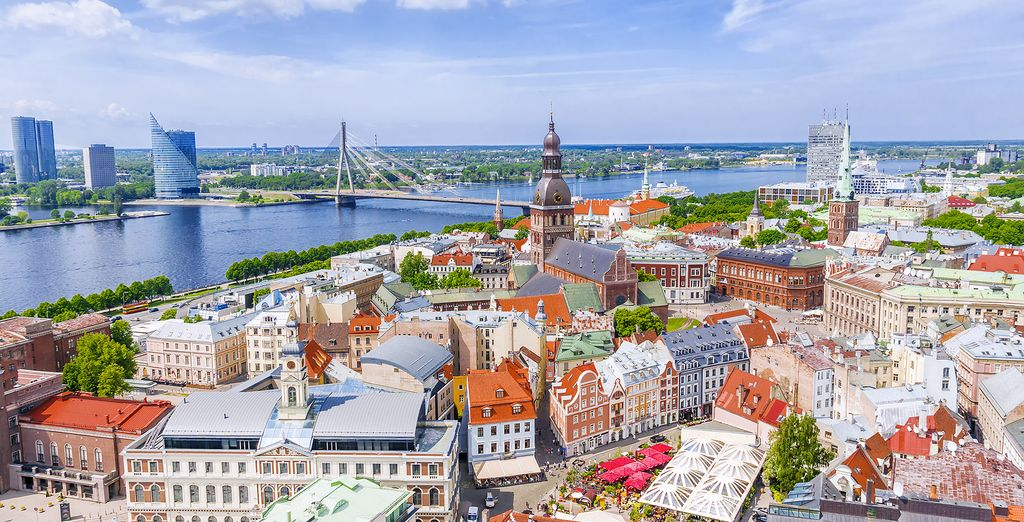 Then move onto Riga, capital of Latvia
