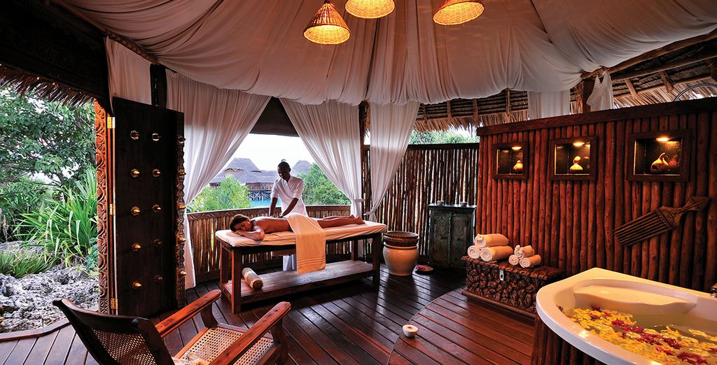Achieve true serenity in the spa