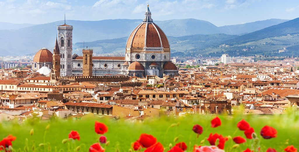 And take a trip to magical Florence - only 40 minutes away