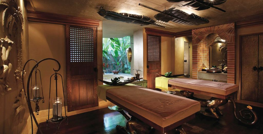 Unwind with a sensual spa treatment