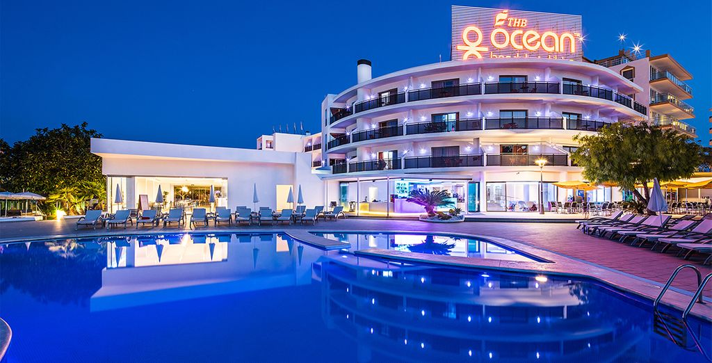 Welcome to the 4* THB Ocean Beach