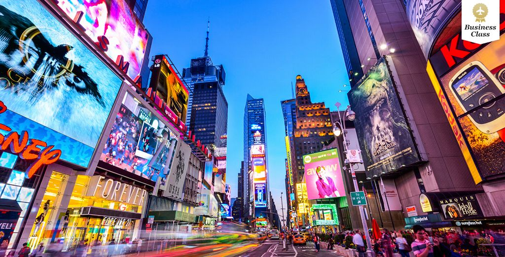 Stay in the heart of world famous Times Square...