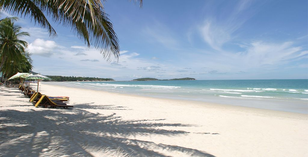 Then you will be whisked away to the beaches of Hua Hin