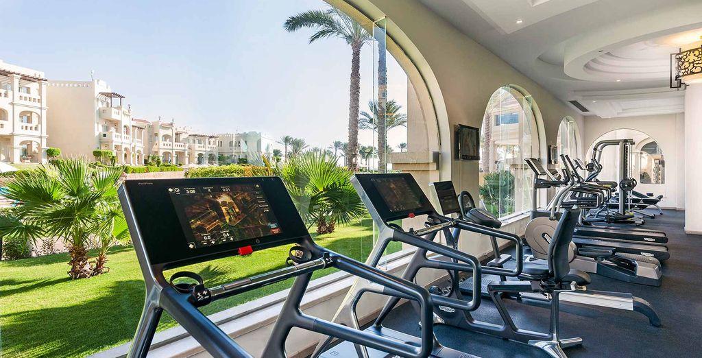 Enjoy a refreshing workout