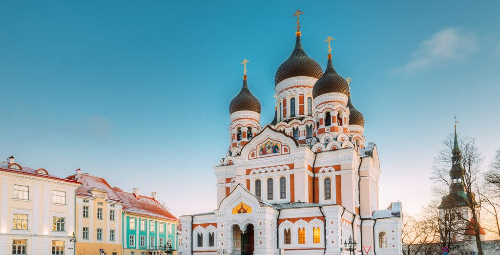 And visit the famous Alexander Nevsky Cathedral