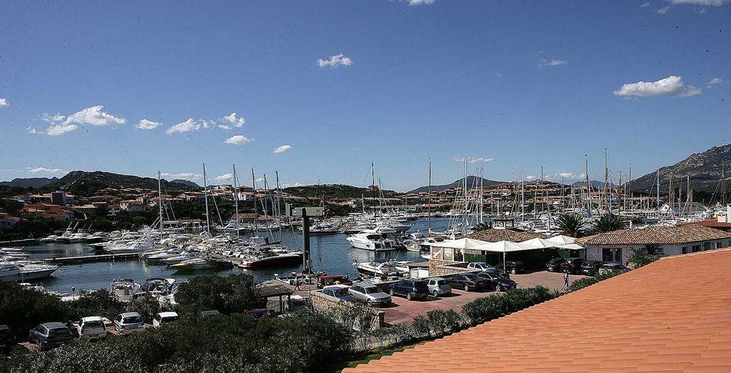 Visit the local port