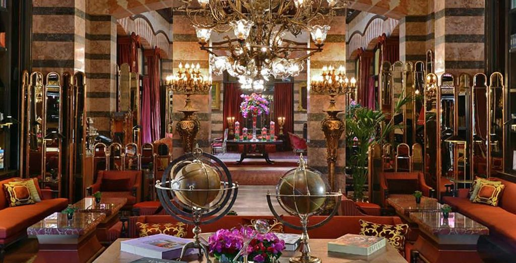 Peruse this 19th century treasure - coined the 'Museum Hotel'