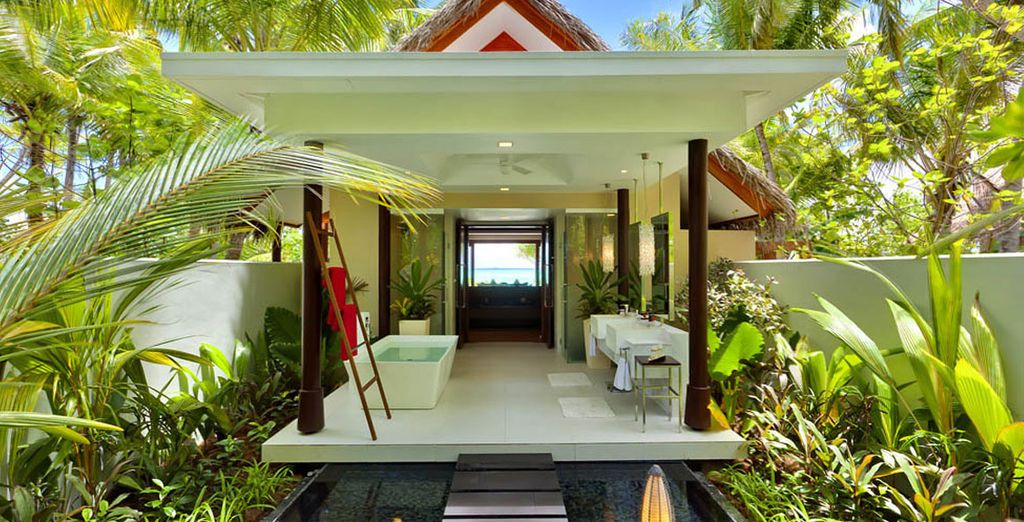 Your Beach Studio with a Private Pool awaits...
