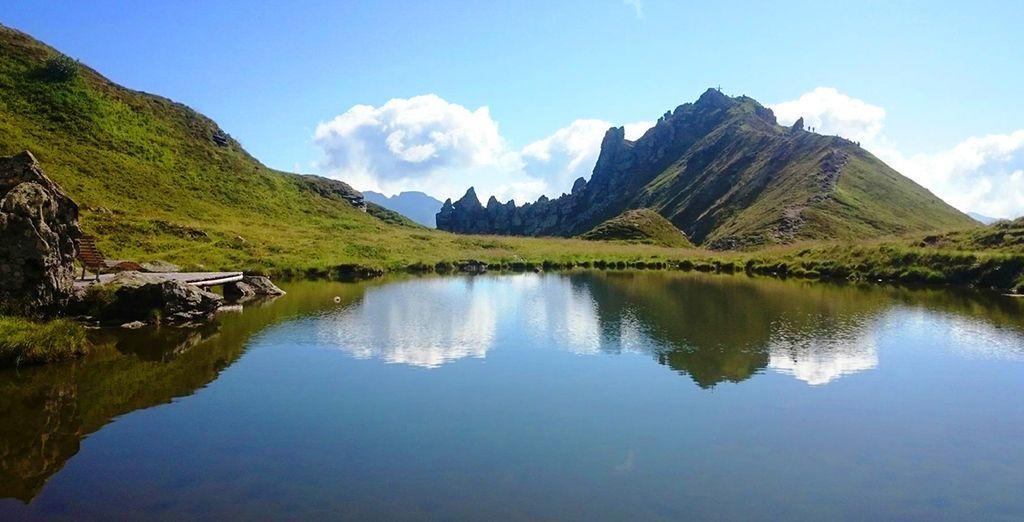 The fresh Alpine air will invigorate you